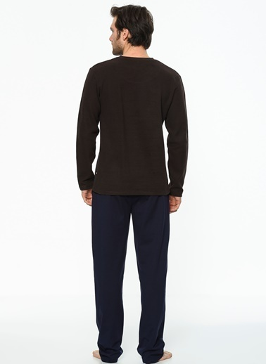 U.S. Polo Assn. Pijama Takım Kahve